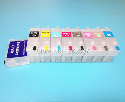 Free shipping!! For Epson T1571-T1579 Printer cartridge For Epson Stylus R3000 Refill ink cartridge 30ml 9colors With ARC Chip<br><br>Aliexpress