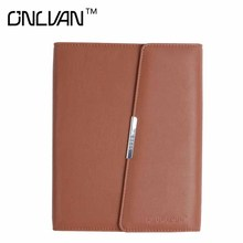 ONLVAN Business Notebook PU Leather Notebook New Design Notebook Office Accessories Business Supply Multifunction Product