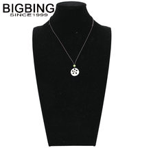 BIGBING fashion jewelry Hand knitting ceramic lotus root pendant necklace wholesale jewelry high quality Free shipping C055