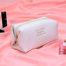Cosmetic Bags Small Makeup Bag Solid color Toiletry Bag Women Travel Organizer Make Up Vanity Case Storage package(China)