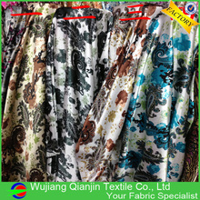 New arrival high quality 100% polyester modern floral fabric