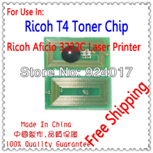 Compatible Ricoh Aficio 3232C 3224C 3232 3224 Photocopier Toner Chip,For Ricoh 888483 888484 888485 888486 Toner Cartridge Chip(China)