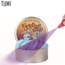 5 colors novelty gadget funny toys slime rubber mud strong plasticine putty non magnetic decompression toys gift P027