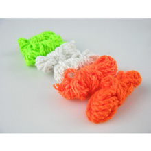 5pcs/set White Nylon  YoYo Professional  Rope Toys Trick String yo yo