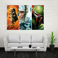 New The Daft Punk Helmet Retro Poster Custom Canvas Poster Art Home Decoration Cloth Fabric Wall Poster Print Silk Fabric
