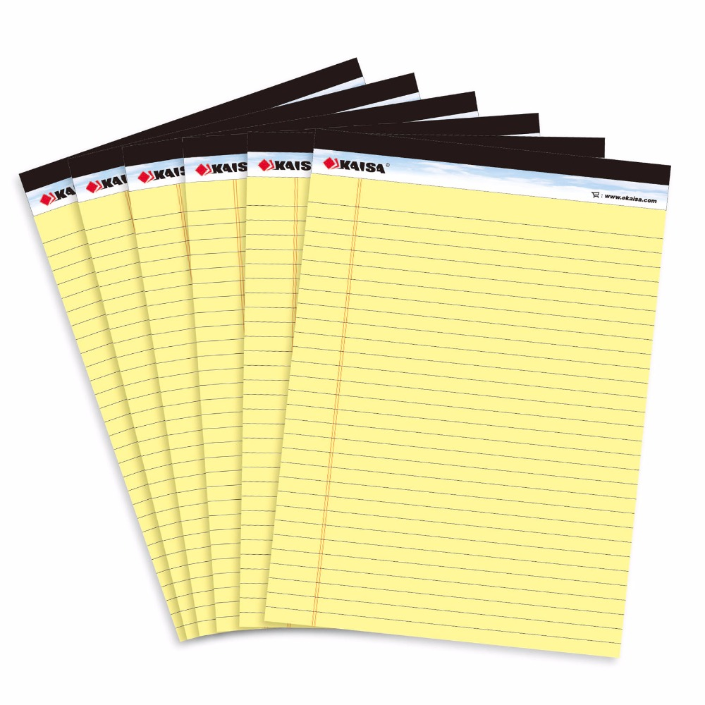 USA style Memo Pad With Tear Line Double-sided printing Business Stripes Draft Sticky Notes School Office Supply<br><br>Aliexpress