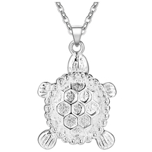 2016 Fashion Tortoise Necklace VASHIRIA New Arrival Trendy 925 Silver Jewelry Pendant Necklace For Women Best Gift PN689
