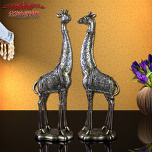 2016 Rushed European Style Ornaments Jewelry Lovers Home Furnishing Giraffe Retro Furnishings New Living Room Decorative Crafts