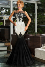 Green/Silver/Gold/Black/Purple Sequin Appliqued Long Dress Sheer Top Women Formal Mermaid Party Formal Gown Vestidos Longo 60633