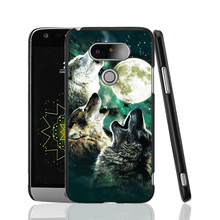 09955 The Wolf Starry Night design cell phone protective case cover for LG G5 G4 G3 K10 K7 magna