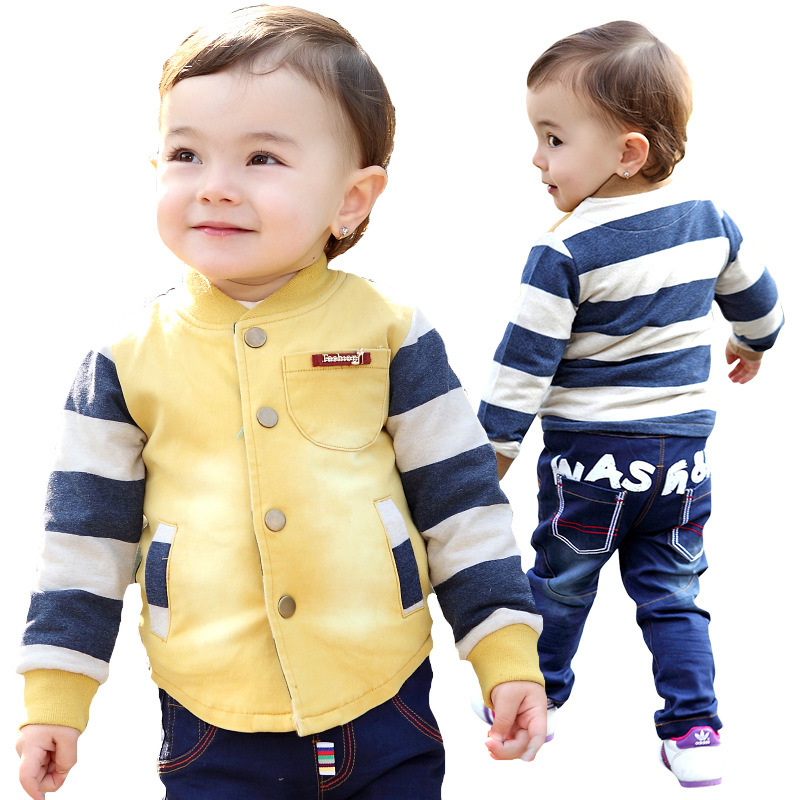 Anlencool Free shipping good quality newborn baby clothes spring new European style baby boy set brand baby clothing sets<br>