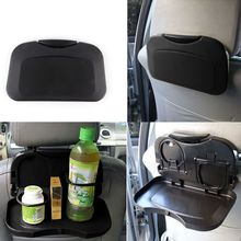 1 Piece Folding Auto Car Back Seat Table Drink Food Cup Tray Holder Stand Desk