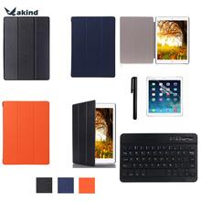 "Smart Premium PU Leath Case + Bluetooth 3.0 Keyboard +Stylus Pen+ For Screen Protector for iPad Pro12.9"" Tablet"