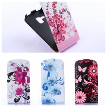 New Arrival Fashion Leather Cover Case for Samsung Galaxy Trend Plus S7580 S7582 GT-S7580 GT-S7582 Smart Phone Bag High quality