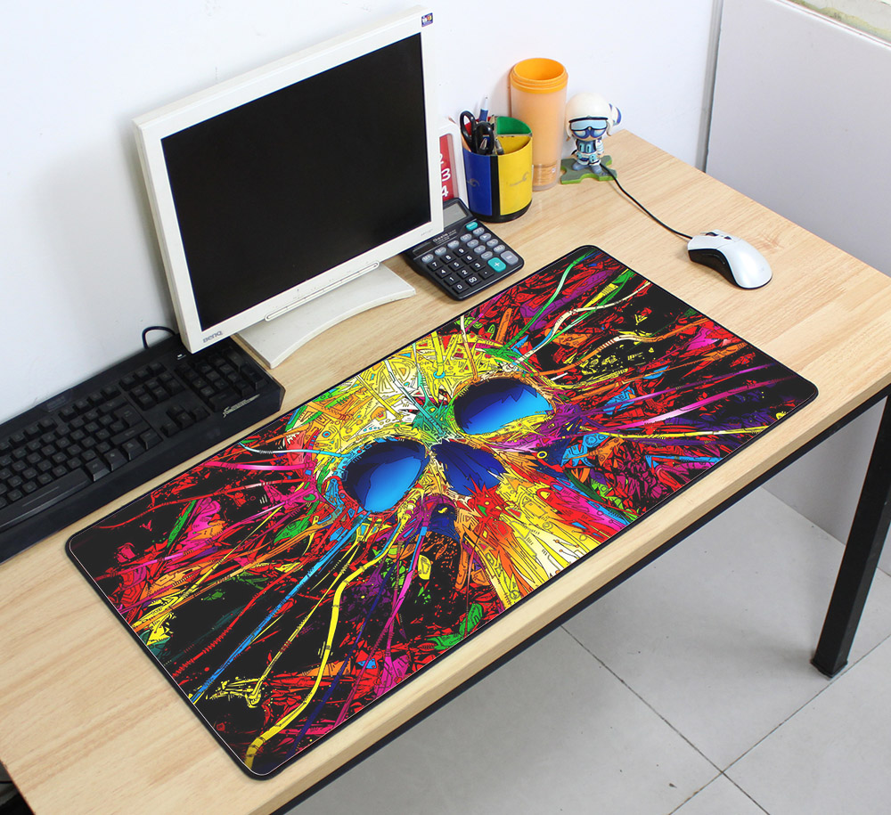 Custom Large mouse pad 700x400mm speed Keyboards Mat Rubber Gaming mousepad Desk Mat for game player Desktop PC Computer Laptop 3