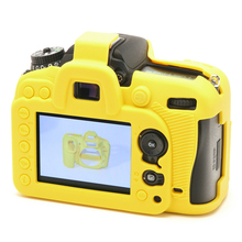 Nice Soft Silicone Rubber Camera Protective Body Cover Case Skin For Nikon D7100 Camera Bag free shipping