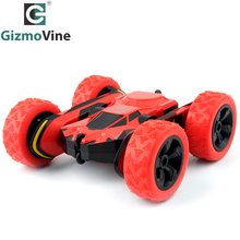 GizmoVine HB 1/28 RC Stunt Car 2.4Ghz RC Car Remote Control, Off Road Electric Race Double Sided 360 Degree Car(China)