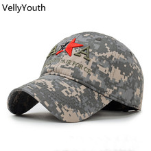 VellyYouth Baseball Cap New Casual Camouflage Baseball Caps Women Men AA Letter Embroidery Snapback Sport Hats(China)