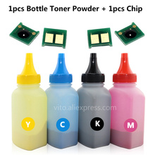 126A Compatible CE310A CE311A CE312A CE313A Color toner powder Chip for HP CP1025 1025 CP1025nw MFP M175 M275 Laser Printer(China)