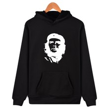 LUCKYFRIDAYF Che Guevara Greats Avatar Printed Sweatshirt Hip Hop Fashion Fleece Pullovers Brand Hoodies Clothing Men Women 2017