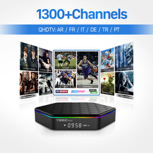 Smart TV Box 1300Plus Free Account European French Arabic IPTV Set Top Box Android 6.0 S912 Octa Core Media Player Fee Shipping