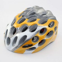 Cycling Bike Sports Safety Bicycle Honeycomb Type 41 Holes Adult Helmets orange color AH1041(China)