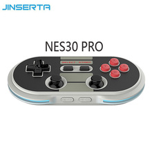 8Bitdo NES30 Pro Wireless Bluetooth Game Controller Gamepad Full Button for iOS Android PC Mac Linux Retro Design