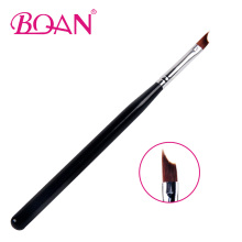 BQAN 1PCS #6 #8 UV Gel Nail Painting Drawing Polishing French Tips Manicure Pen Brush Half Moon Brushes Design DIY Tools