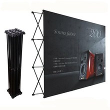 Tradeshow Wall&Media/Wedding/Party Flower Wall&Fabric Tension Banner Pop Up Exhibition Booth Display Stand&Backdrop poster board(China)