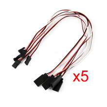 EWS 5 pcs Remote Control Servo Extension Cord Cable Wire(China)