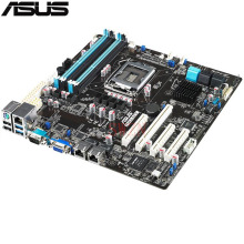 original Used Server motherboard For ASUS P9D-MV Socket 1150 Core i3/Xeon E3-1200 v3 Maximum 4*DDR3 32GB 4xSATAIII 2xSATAII ATX(China)
