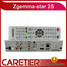 3pcs Original Zgemma Star 2S Digital Satellite Receiver with Two DVB-S2 Tuner Enigma2 Linux System Zgemma-star 2S