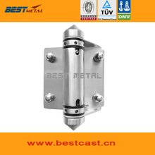 Satin polish 316 Stainless steel Self Closing Hinges of glass to glass for glass swimming pool fencing