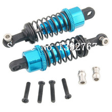 2Pcs Wltoys 1/18 RC Model Car Spare Parts Aluminum Alloy Shock Absorber For A949 A959 A969 A979 k929 A949-55 Remote Control(China)