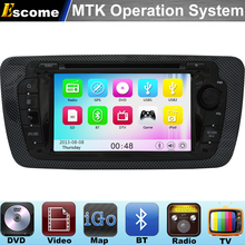 MTK3360 Car DVD Player For Seat Ibiza 2009 2010 2011 2012 2013 2014 with 800MHz CPU Dual Core Bluetooth Radio GPS