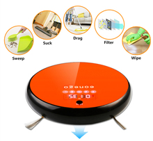 Wireless Automatic Smart Robot Vacuum Cleaner Sweeper Mop industrial(China)