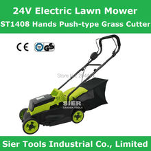 ST1408 24V Electric Lawn Mower/Hands Push-type Grass Cutter/Cordless Lawnmower