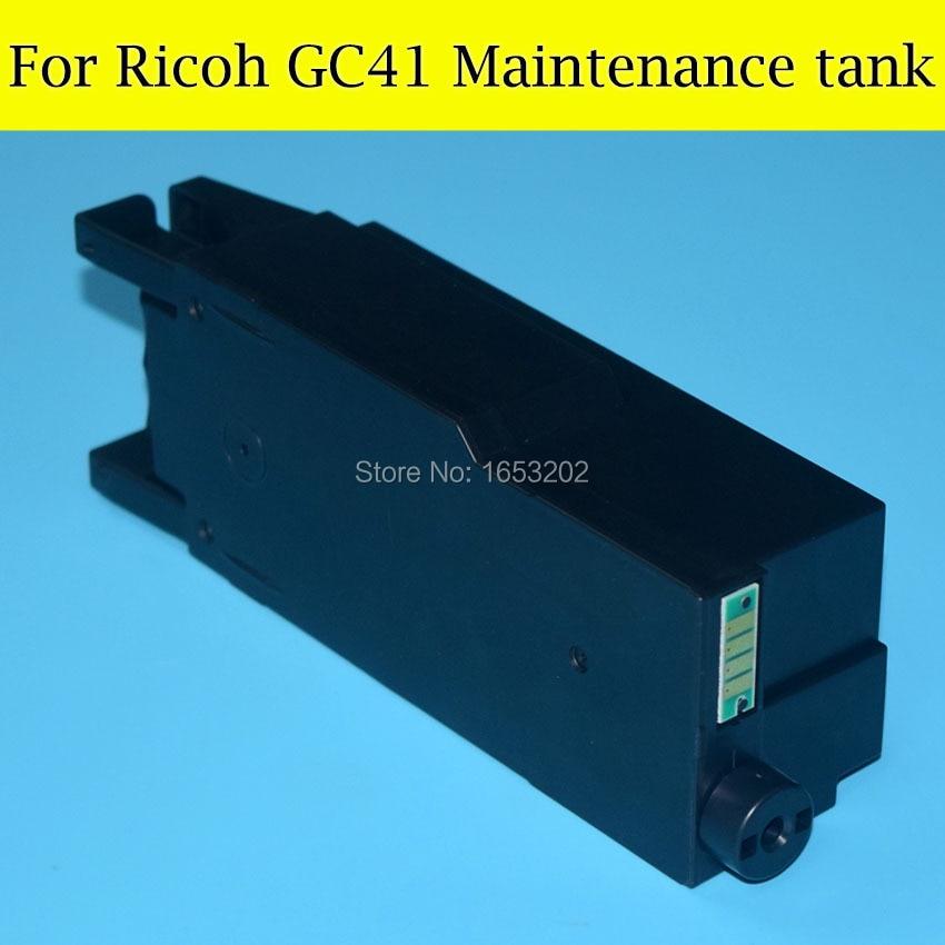1 PC Waste Ink Tank For Ricoh GC41 Manintenance BOX Use For Ricoh SG3100 SG2100 SG2010L SG3110dnw SG3110 Printer<br>