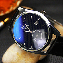 YAZOLE Luxury British Quartz Watch Men's Fashion Stainless Steel Back Watch Calendar Function Watches for Male Gift YD306