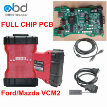 DHL Free Full Chip For Ford VCM2 VCMII Diagnostic Interface VCM 2 Software IDS V101 VCM II For Mazda V94 OBDII Scanner Tool