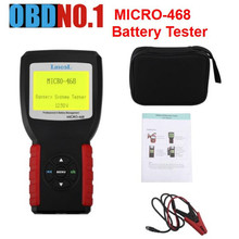 MICRO-468 Battery Tester MICRO 468 Battery Conductance & Electrical System Analyzer MICRO468 newest from the market on sale(China)