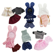 le sucre bunny rabbit Clothes Suit dress doll's clothing lovely sweater for kids toys gifts 3 size