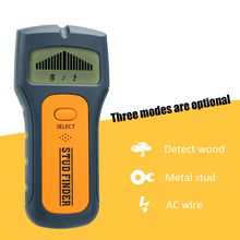 3 1 Stud Finder Wire Metal Wood Detectors Find AC Voltage Live Wire Detect Wall Scanner behind Wall LCD Display TS79