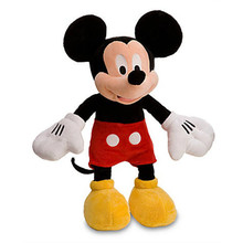 Original Mickey Mouse Plush Toy Cute Stuffed Animals 18'' 45CM Mickey Pelucia Minnie Boyfriend Baby Kids Toys for Children Gifts