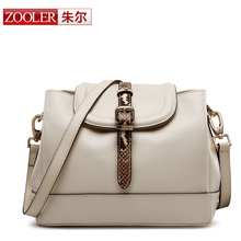amazing best price for you,ZOOLER BRAND Genuine Leather bag bags Handbags women Shoulder bags OL Style women bag #6068