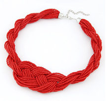 Min.order $10(Mix Item) SPX3055 charm Fashion Western Manual Beads Promotion For Beauty Collars Statement Necklace Jewelry(China)