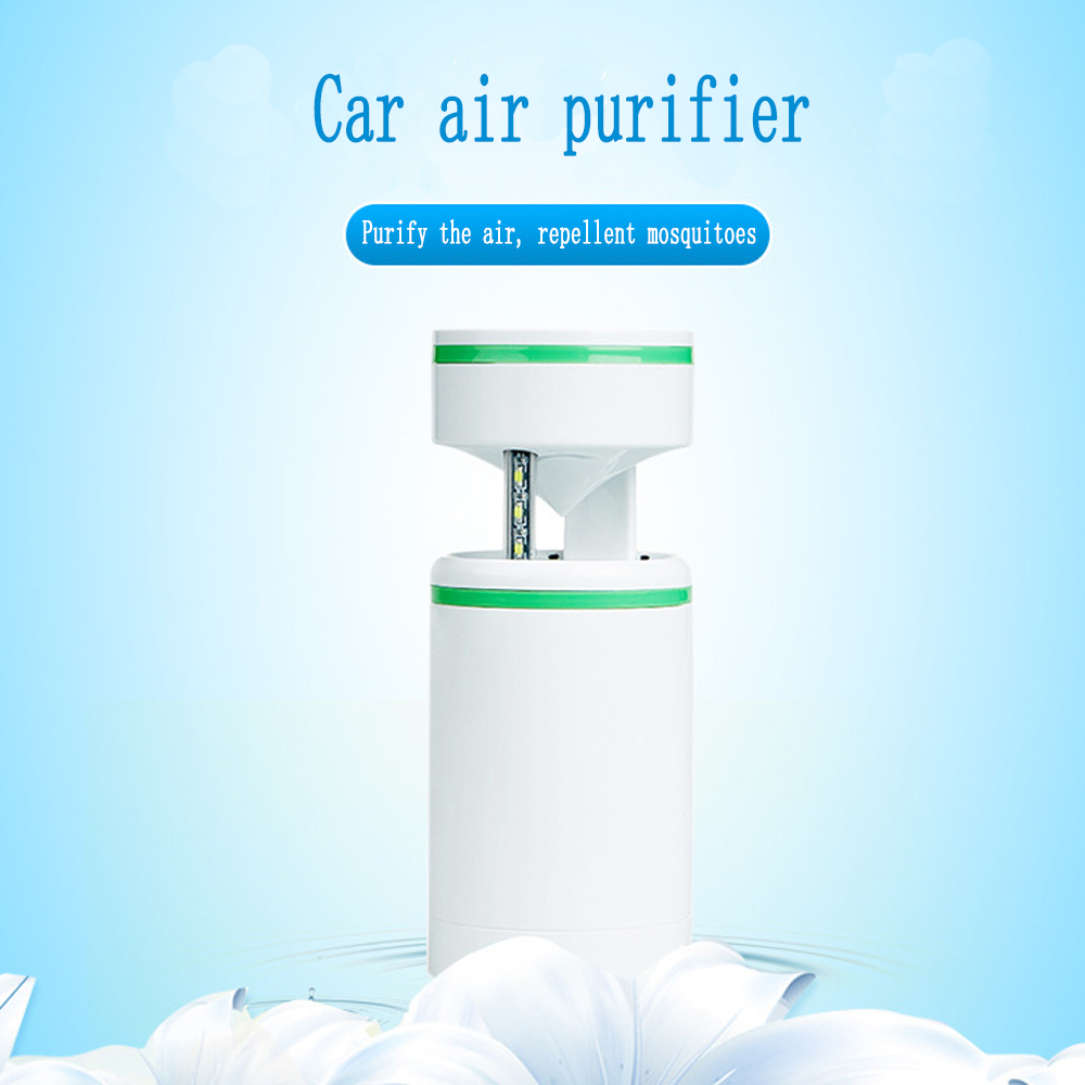 Vehicle negative ion air purifier, automobile exception smell aeration fresh air purifier<br>
