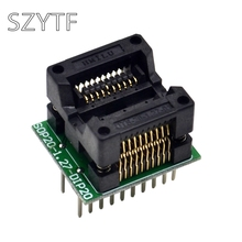 Top Quality Chip programmer SOP20 + 5 wide body SOP8 adapter socket to DIP20(China)