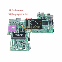CN-0UK435 UK435 Mainboard For Dell Inspiron Series 1720 Laptop Motherboard 17 inch 965PM DDR2 With GPU slot