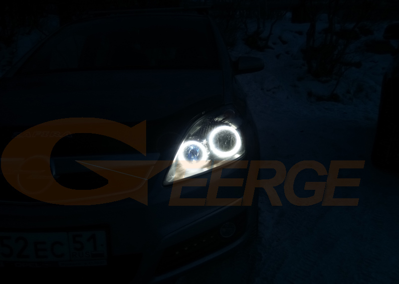 Opel Zafira B 2005-2014 smd led angel eyes(5)